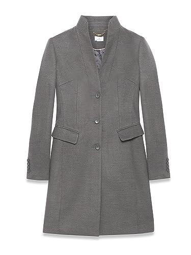 Motivi – Abrigo – para mujer gris 42