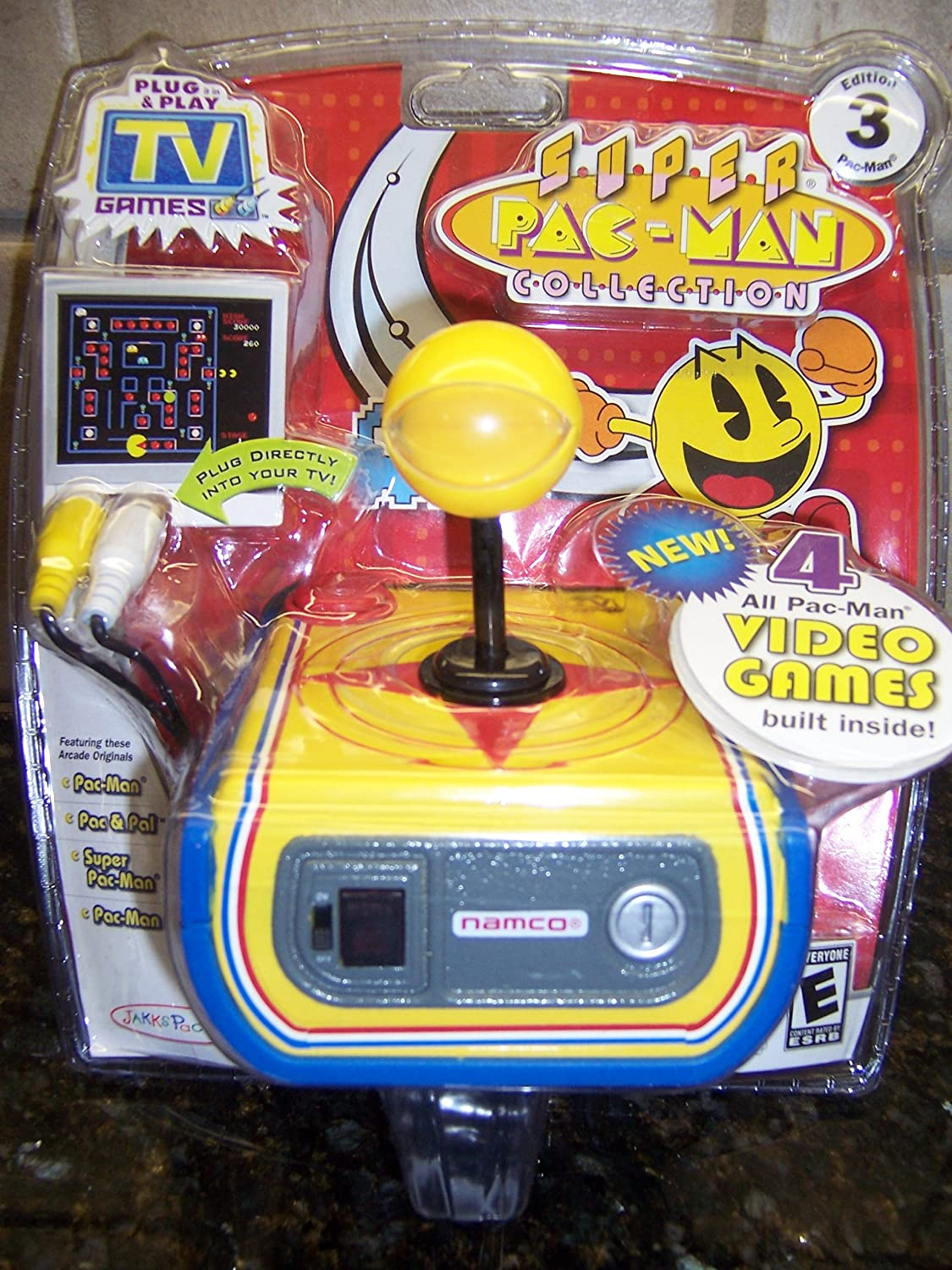 SUPER PAC-MAN COLLECTION: Plug & Play TV Games (BRAND NEW!) Edition 3 B007GPHPR8
