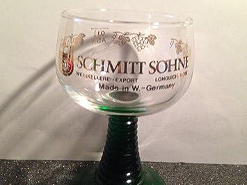 Amazon.com: Schmitt Sohne W. Alemania Cordial o licor vidrio ...