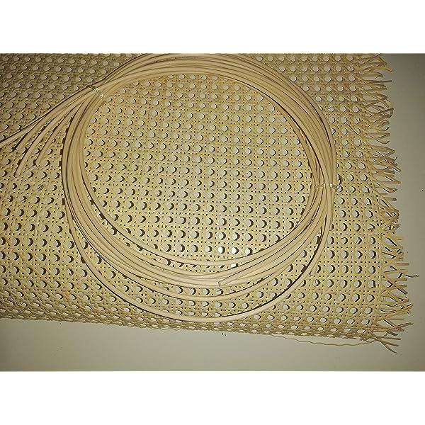 Mimbre para cester/ía en varios colores Natural 150 gr,di/ámetro 2,5 mm