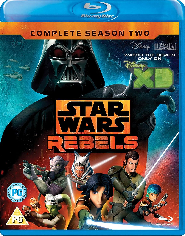 Amazon Com Star Wars Rebels Season 2 Blu Ray Region Free Simon Kinberg Carrie Beck Dave Filoni Movies Tv