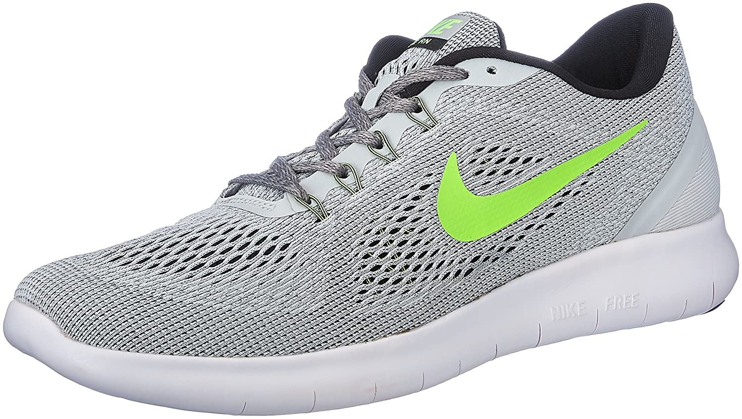 0d66f0e1a36d Nike Men s Free Rn Grey Running Shoes - 10 UK India (45 EU)(11  US)(831508-003)  Buy Online at Low Prices in India - Amazon.in