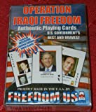 Operation Iraqi Freedom Authentic Playing Cards - U.S. Government's Best & Bravest