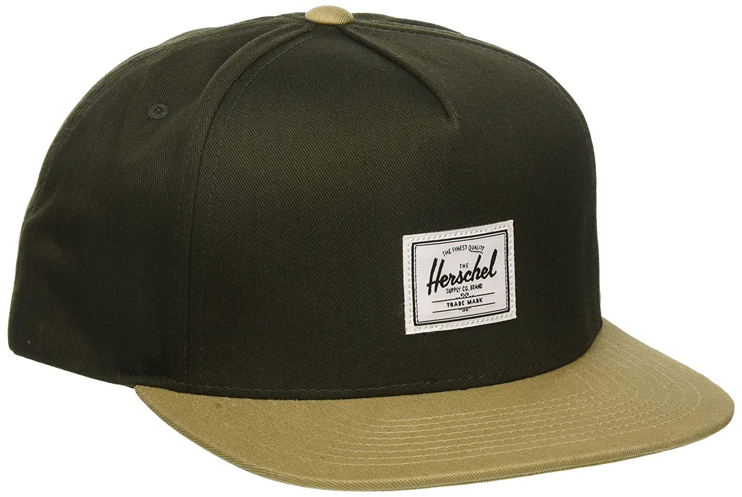 Herschel Supply Co. Mens Standard Dean Cap Forest Night/Khaki One Size Herschel Supply Men' s Accessories 1081-0482-OS