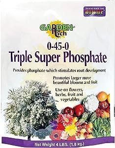 Bonide (BND969) - Triple Super Phosphate 0-45-0, Phosphorus Plant Food Granules (4 lb.)
