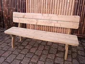 Panchine Da Giardino In Legno : Panchina da giardino in legno leipzig freital 180 cm.: amazon.it