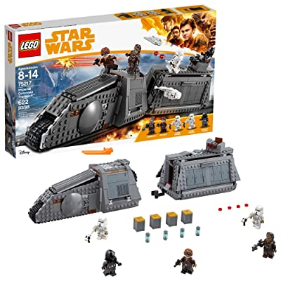LEGO Star Wars Imperial Conveyex Transport 75217 Building Kit, New 2020 (622 Pieces): Toys & Games