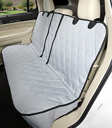 FOR MAZDA 6 PREMIUM QUILTED PET HAMMOCK REAR SEAT COVER