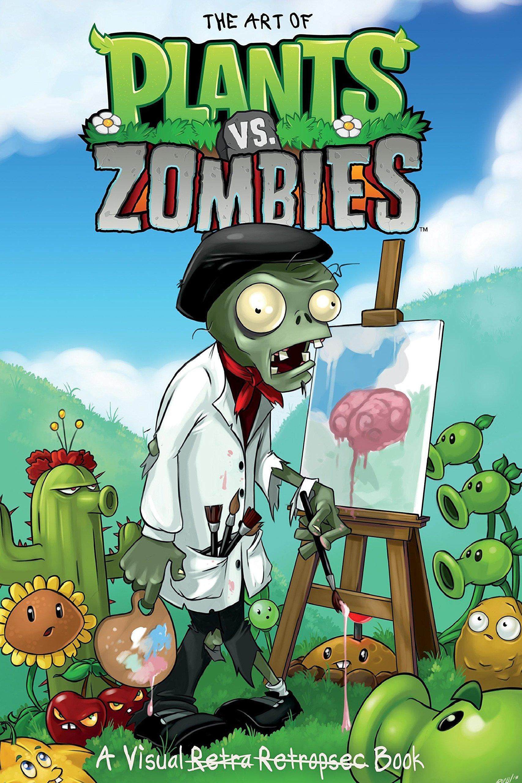 Amazon com: The Art of Plants vs  Zombies (9781616553319