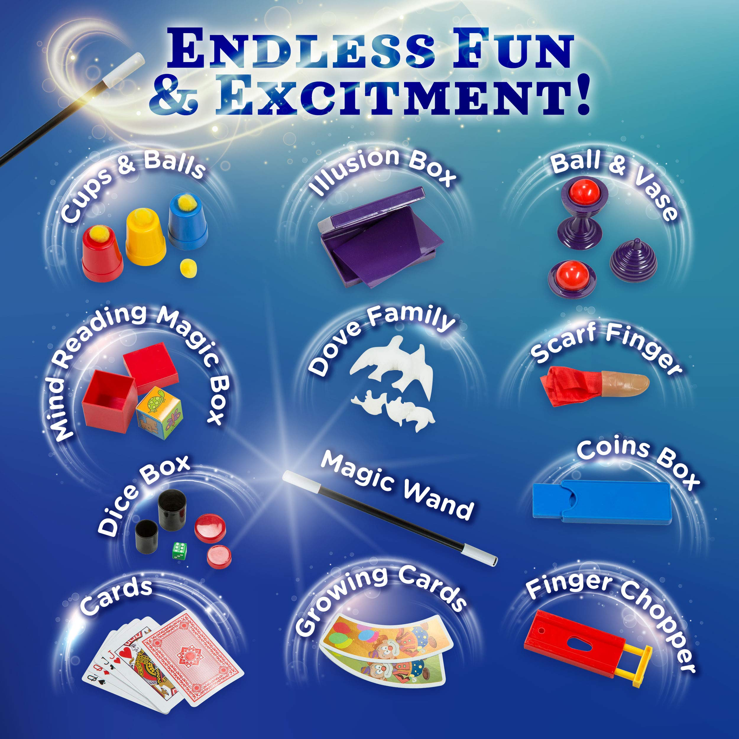 771e80ca2 Learn & Climb Beginners Magic kit Set for Kids – Exciting Magician Tricks  ...