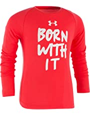 f64345ef Under Armour Girls' Long Sleeve Graphic Tee