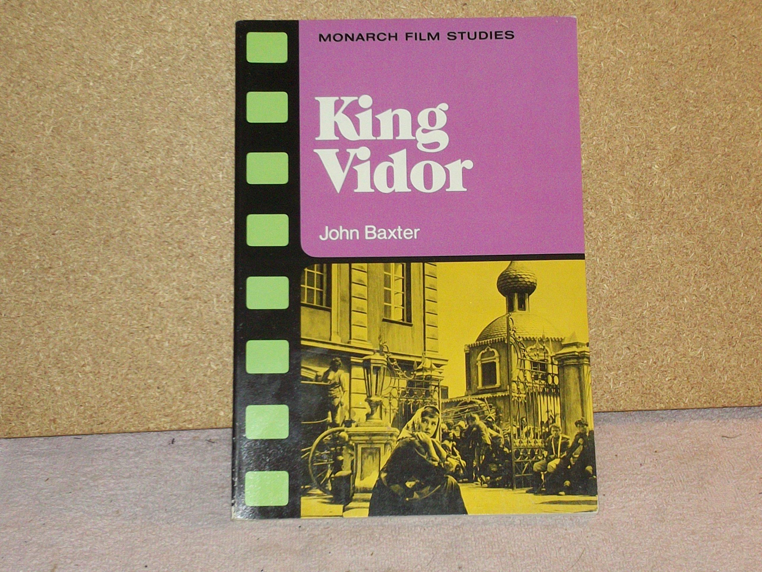 king vidor monarch film studies