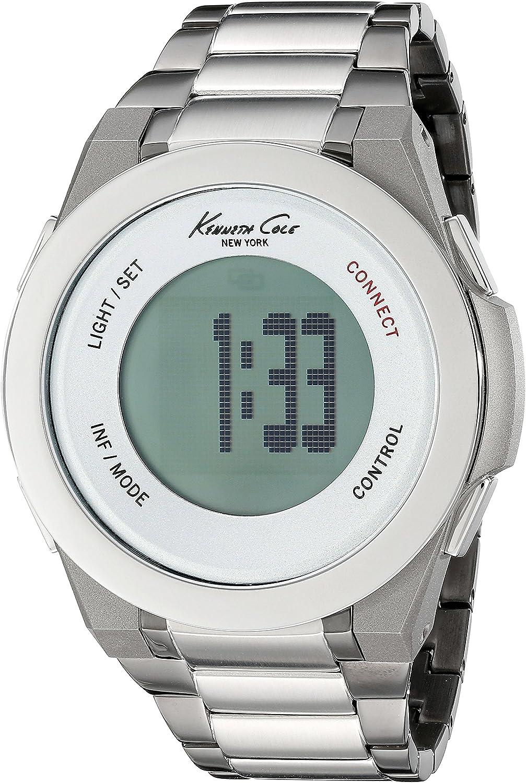 Kenneth Cole Reloj analogico para Hombre de Cuarzo con Correa en Acero Inoxidable 10023868