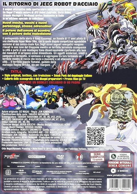 Shin Jeeg Robot DAcciaio (3 DVD) [Italia]: Amazon.es: vari, vari, vari: Cine y Series TV