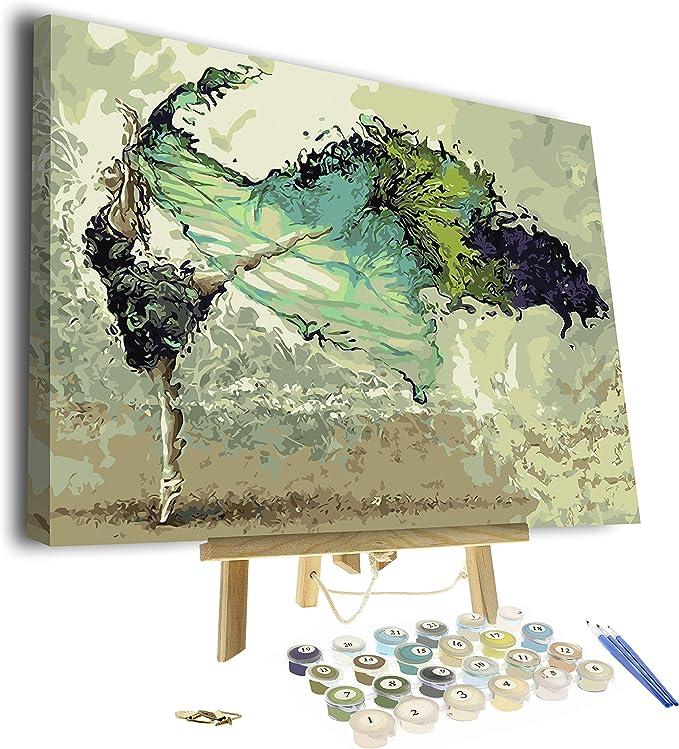 Pixel Splash's soul dancer paint by numbers