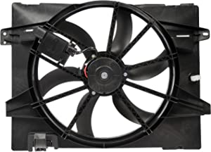 Dorman 621-353XD Engine Cooling Fan Assembly for Select Ford/Lincoln/Mercury Models, Black (OE FIX)
