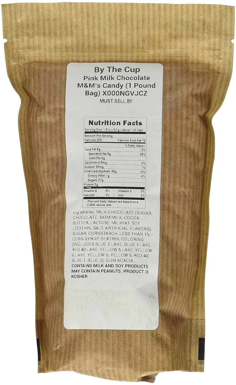 Amazon.com : Pink Milk Chocolate M&M\'s Candy (1 Pound Bag ...