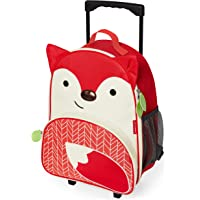 Skip Hop Kids Luggage With Wheels, Fox