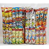 Assorted Japanese Junk Food Snack 'Umaibo' 100 Packs of 11 Types