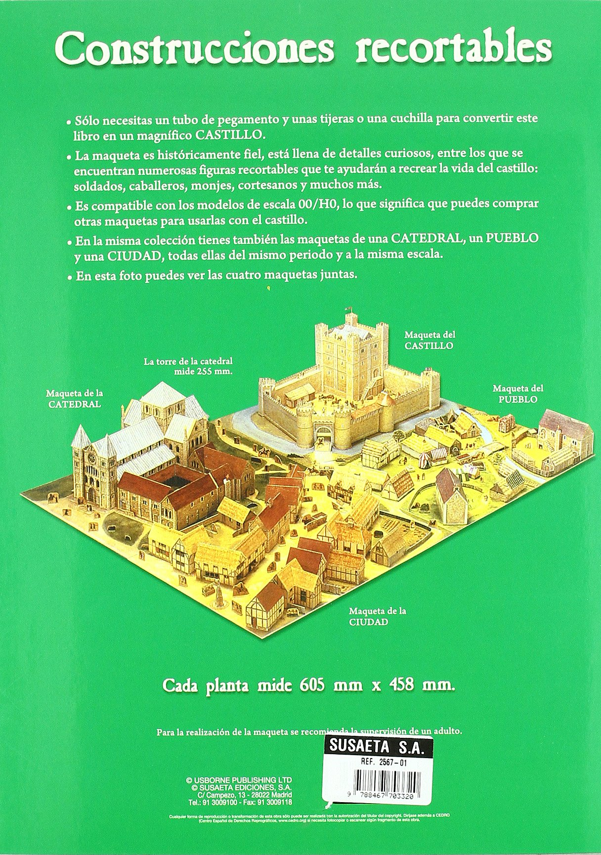 Construye este castillo de la edad media: AA.VV ...