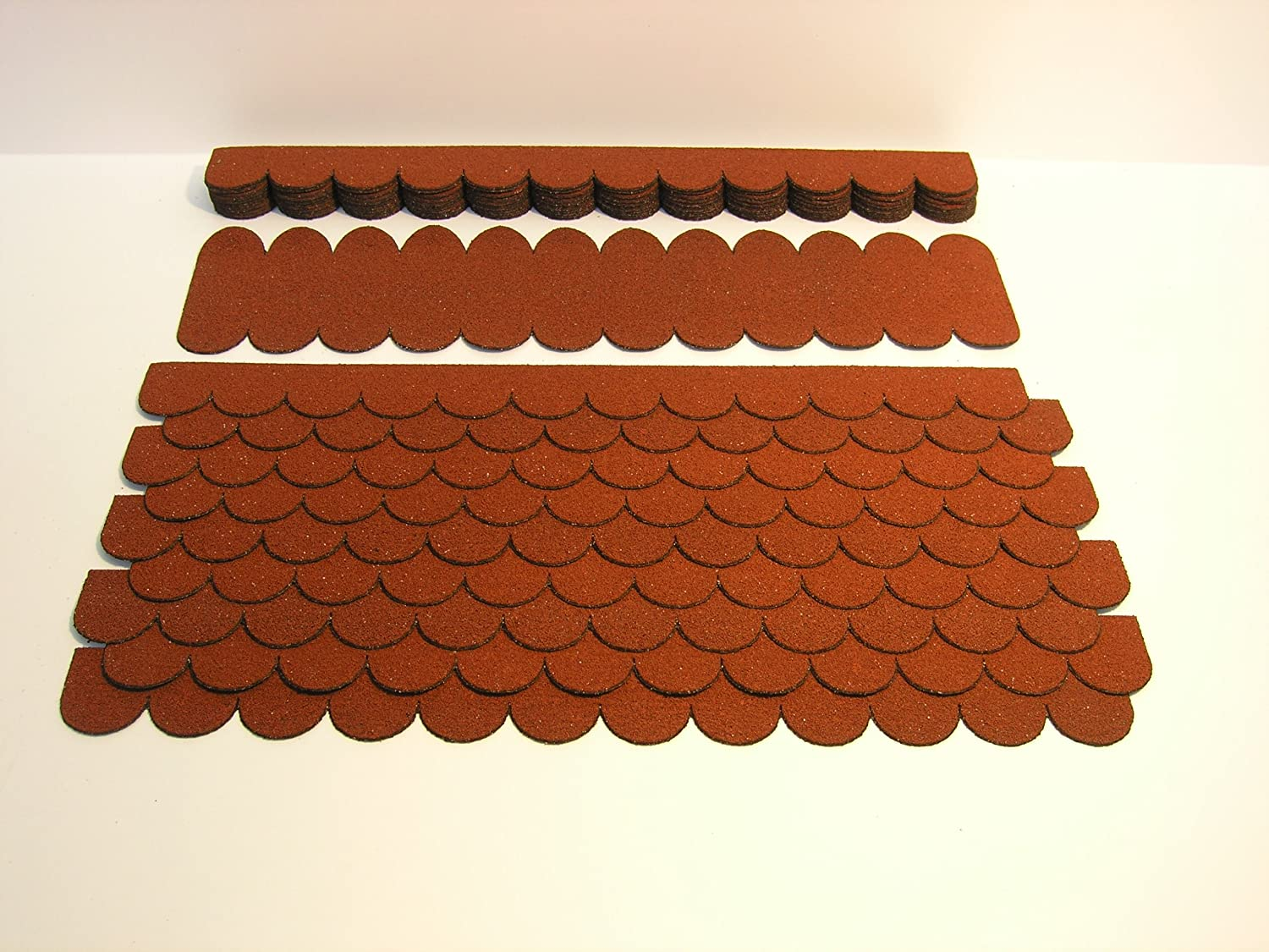 Red Roof Shingles for Bird House '3' Werkstätten Martinshof