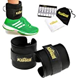 KLASTILL Ankle Straps for Cable Machines for Leg Extension, Inner Thigh, Glutes & Ab Exercises, Gym Bag for Men & Women, 2 Premium Ankle Cuff Attachment for Weight Lifting Equipment