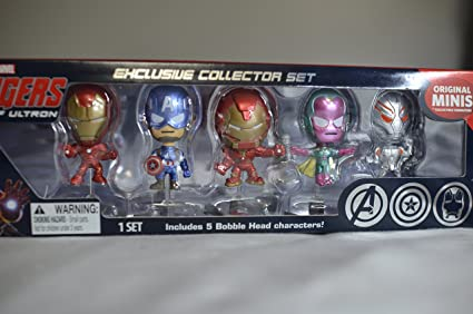 Original Minis Marvel Avengers Age of Ultron collectible figures set of 8