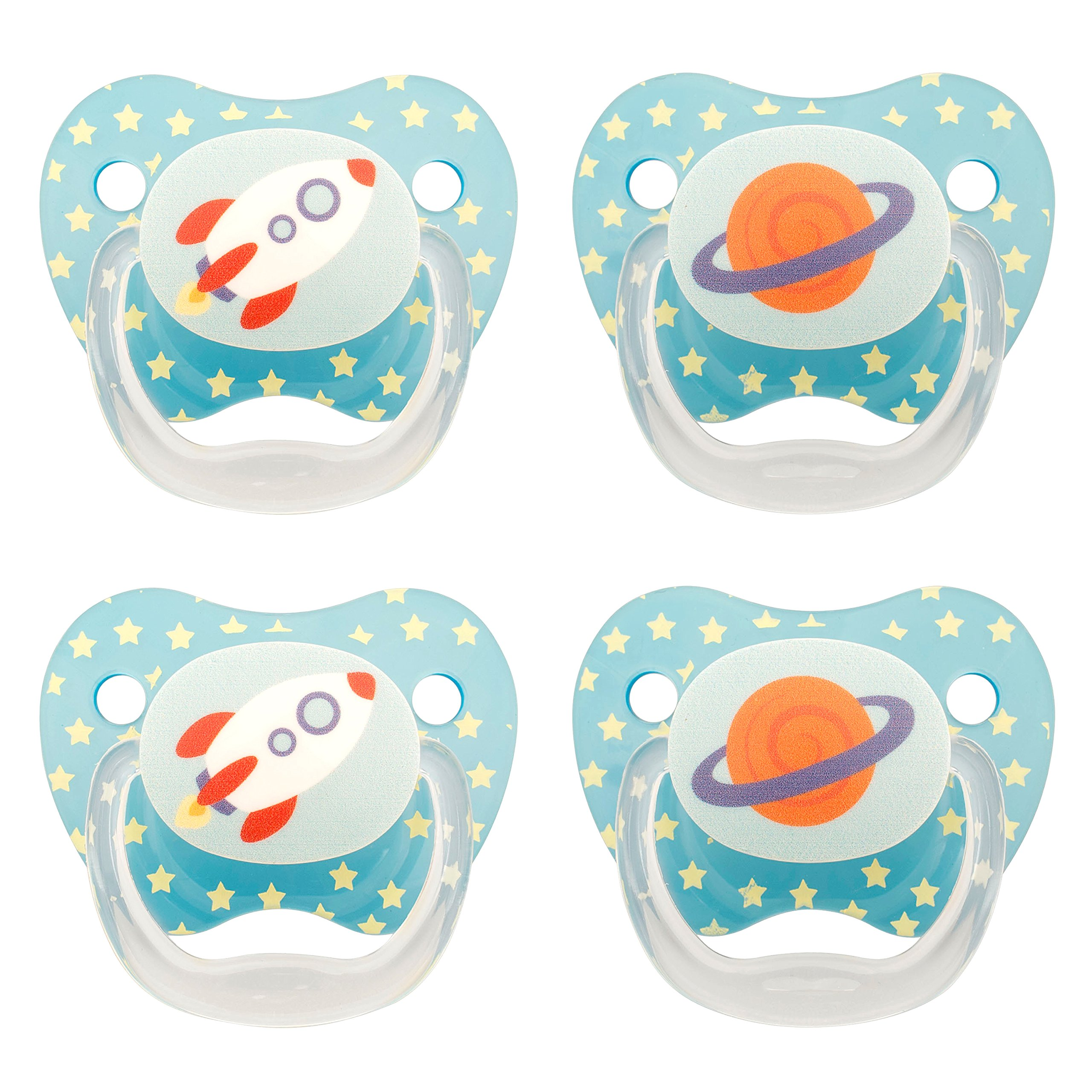 Amazon.com : Dr. Browns Classic Pacifier, 0-6m, Animal ...