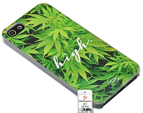 Case Cover for Google Nexus 6 Leaf Grass High weed dope