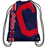 MLB Cleveland Indians Unisex 2015 Drawstring Back Pack, Team Color, One Size