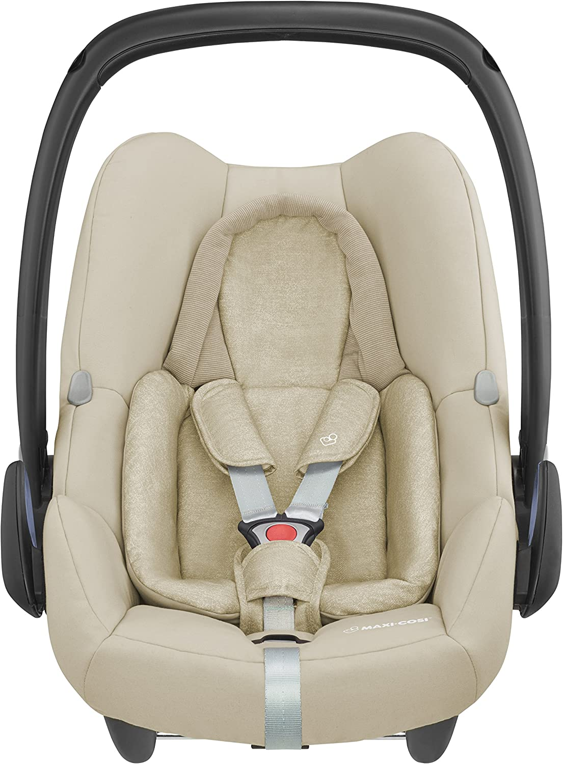 i-Size Car Seat 0-13 kg 0-12 m Essential Graphite ISOFIX Maxi-Cosi Rock Baby Car Seat Group 0+ Rearward-Facing