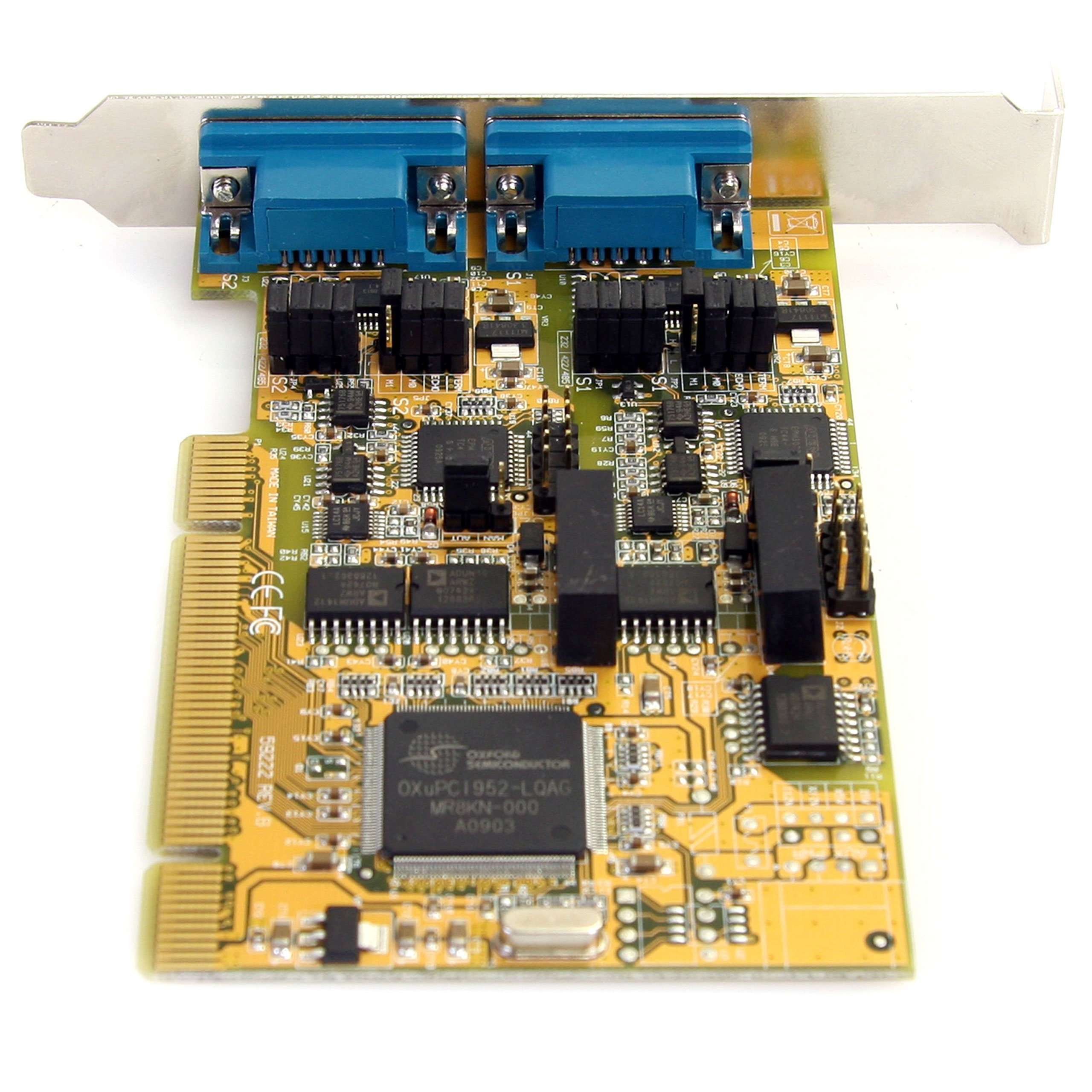 StarTech.com PCI2S232485I 2 Port RS232/422/485 PCI Serial Adapter Card with ESD Protection by StarTech (Image #4)
