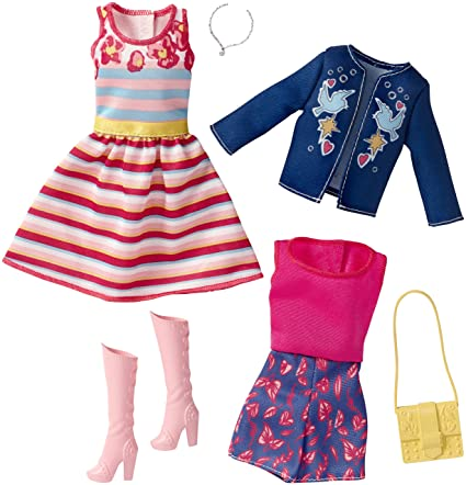 ADD ON ITEM New Barbie Style Resort Summer Doll Neon Pink Bag Handbag Purse 2