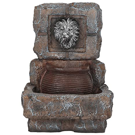 Tiikart Lion Water Fountains Feng Shui Vastu Limited Edition