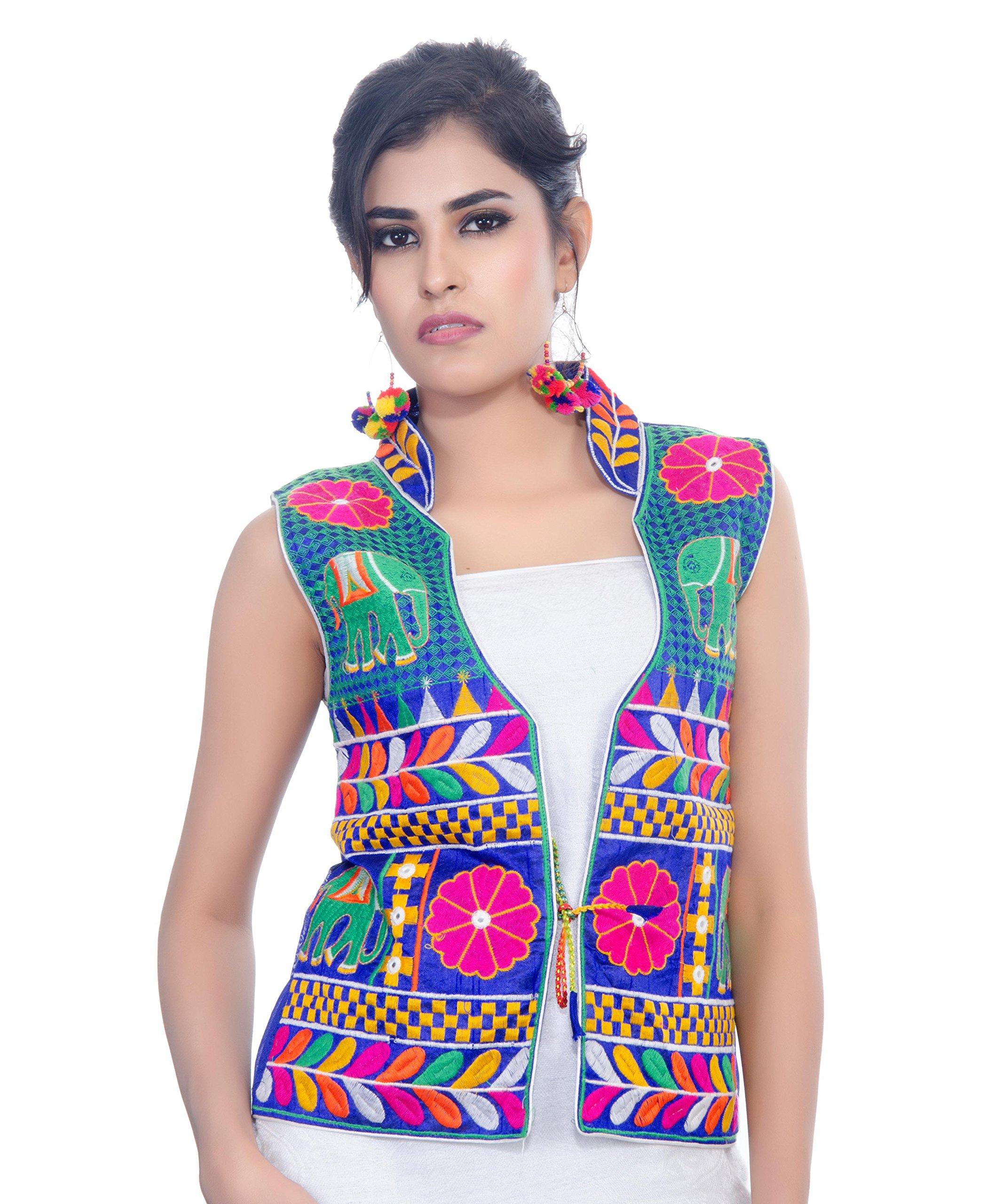 Boho Banjara Banjara velvet India Sleeveless Embroidered Women Jacket,Indian Women Jacket Embroidered Ethnic Waist Coat Banjara Style Koti