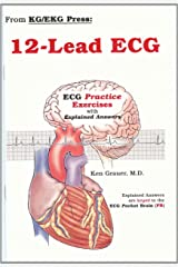12-lead ECGs: Practice Exercises Hardcover