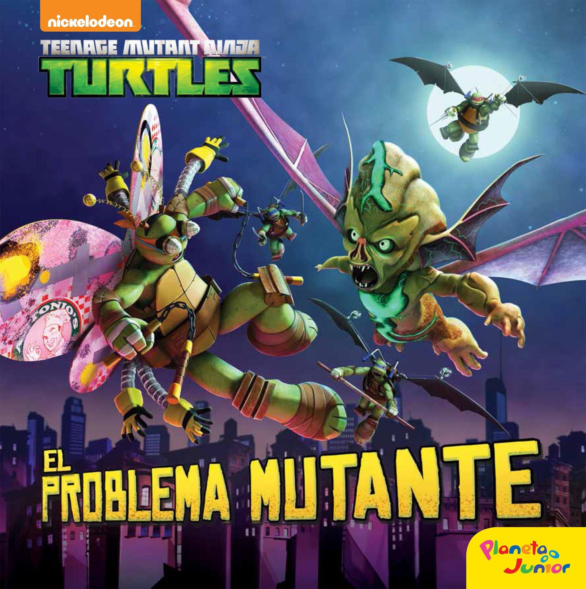 Las Tortugas Ninja. El problema mutante: Cuento: Amazon.es ...