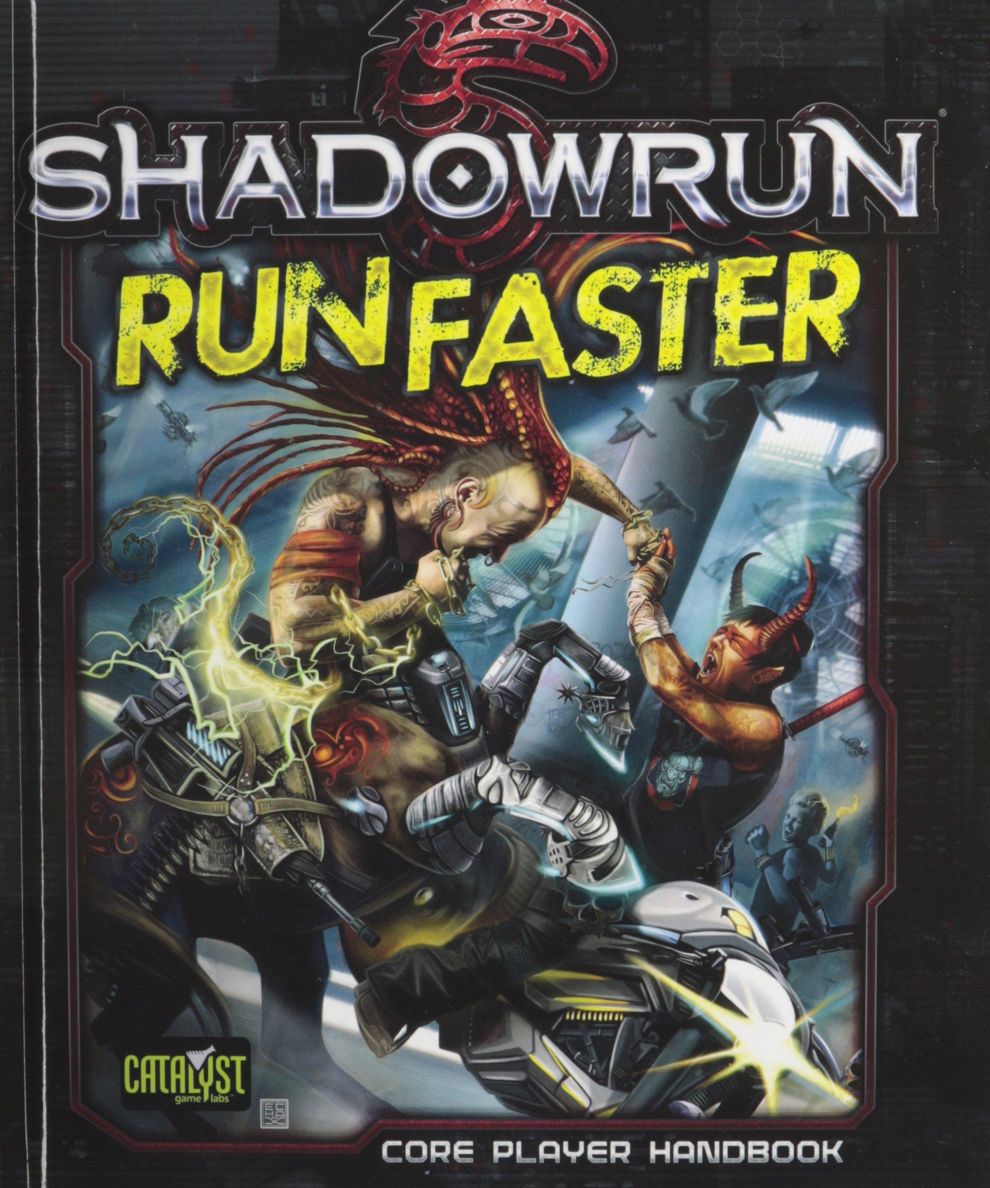 Shadowrun Run Faster *OP ebook