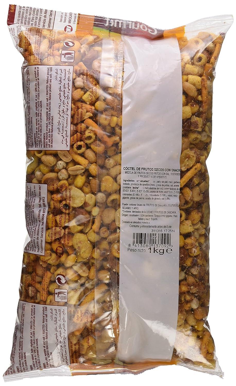 Gourmet - Frutos Secos - Cóctel de Frutos Secos con Snacks - 1 kg: Amazon.es: Alimentación y bebidas