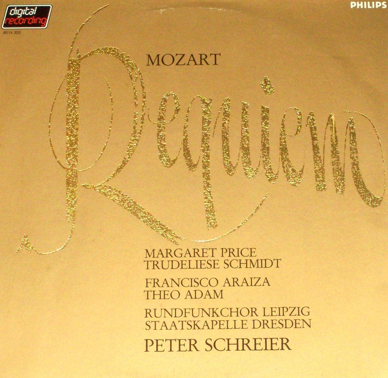 Mozart Requiem K./KV 626: Wolfgang Amadeus Mozart, Peter Schreier ...