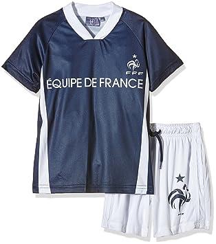 FFF EP1010 - Conjunto Deportivo de 2 Piezas de la selección de fútbol de Francia,