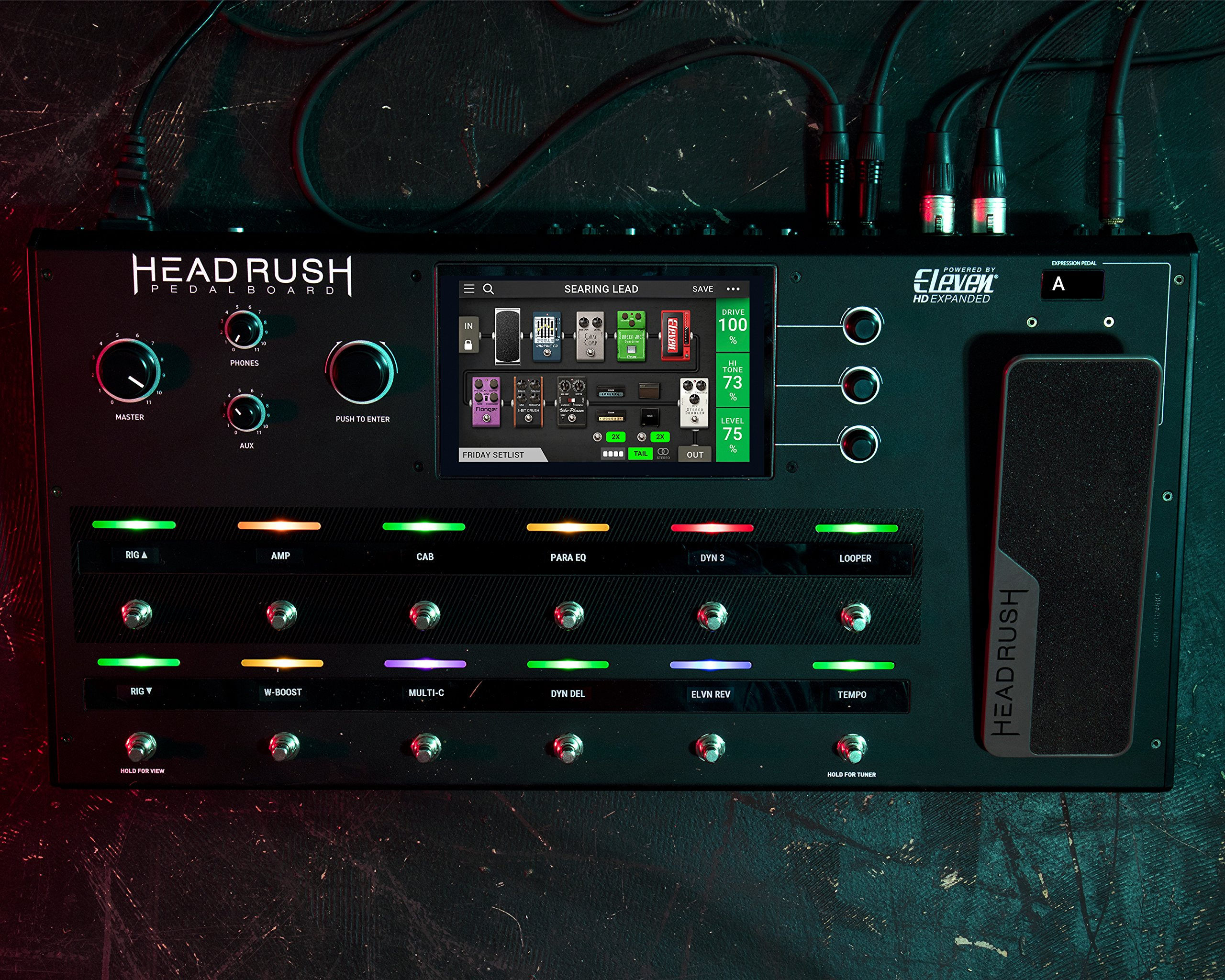 HeadRush Pedalboard | Guitar Amp and FX Modeling Processor by Head Rush (Image #5)