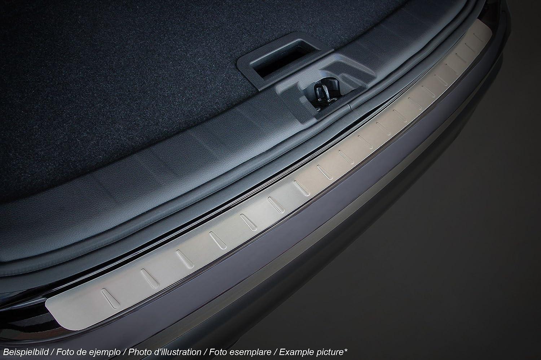 PKWelt 5901991566689 Protection De Seuil De Chargement Pare-Chocs 100 pour Cent Acier Inoxydable