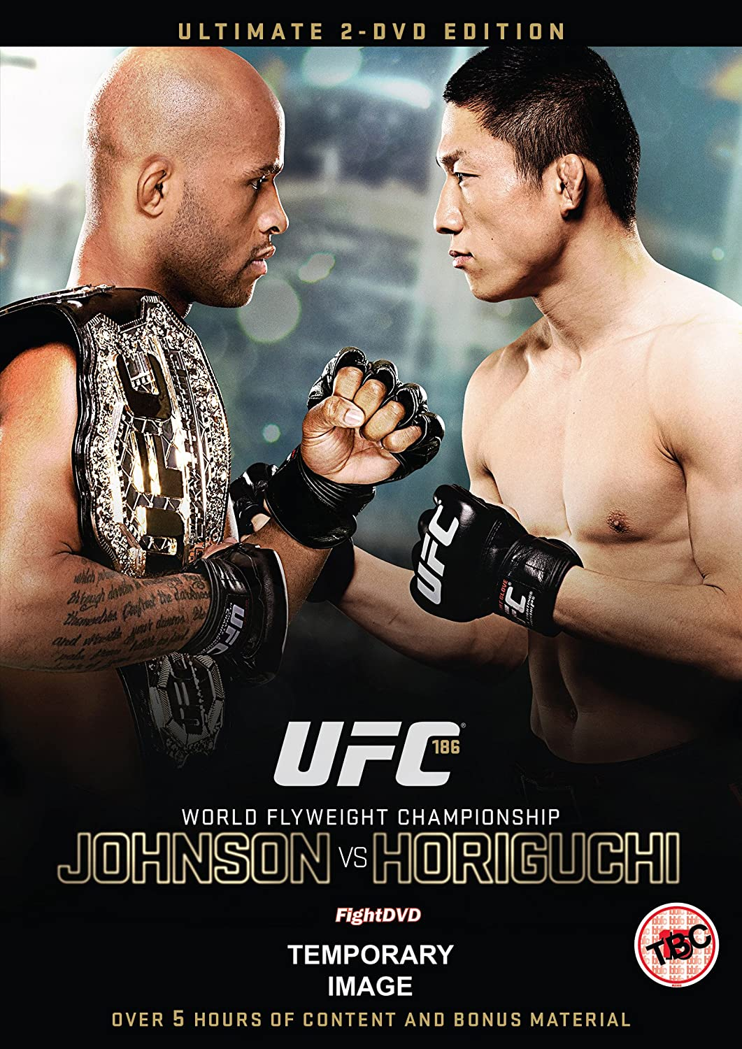 Amazon.com: UFC 186 - Johnson vs. Horiguchi Extended Edition DVD ...