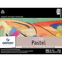 "Mi-Teintes Pastel Pad, Assorted Colors 12""X16"" Fold Over"