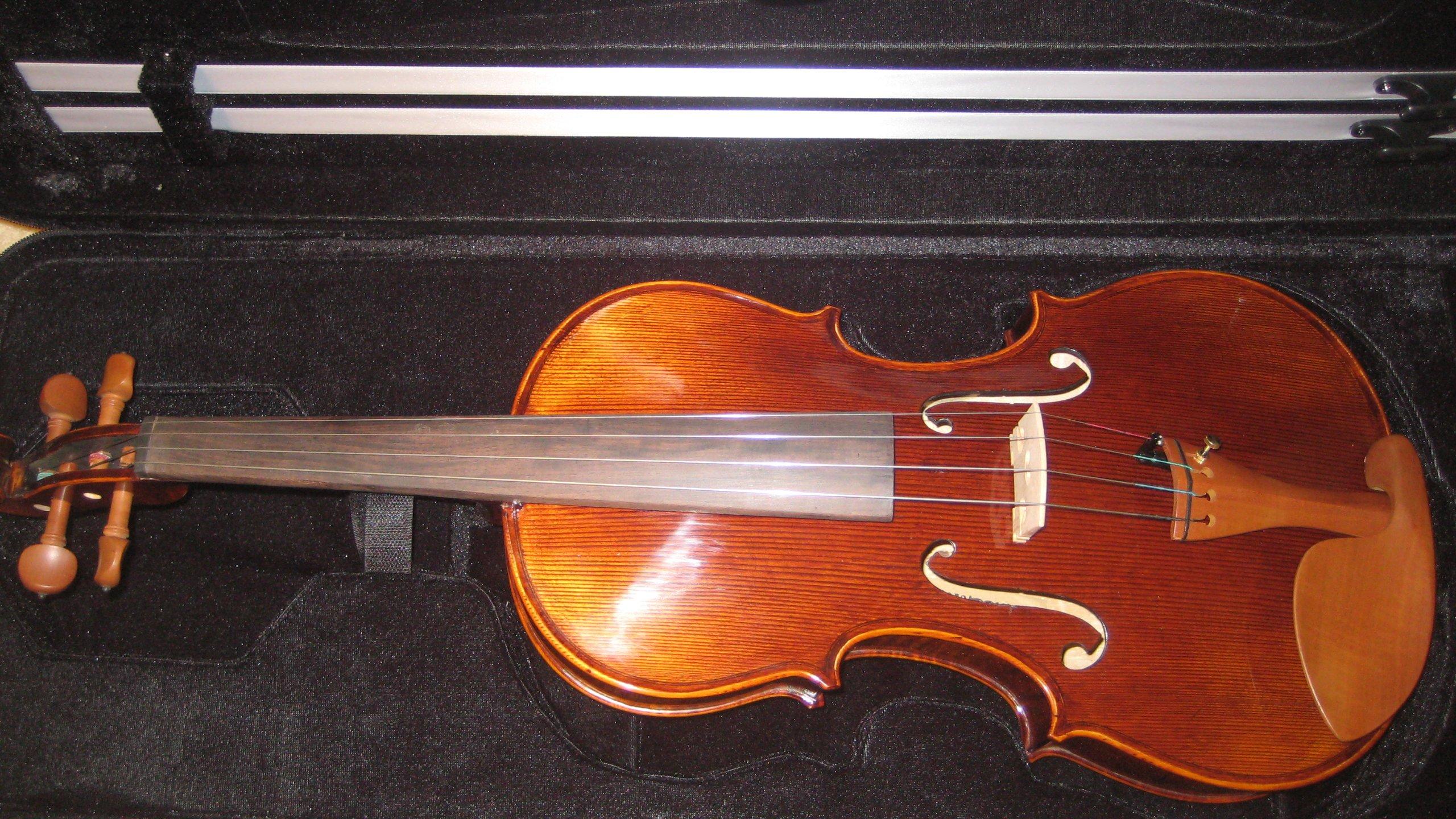 Advanced Viola, Outstanding Varnish & Tonality, 15.5''