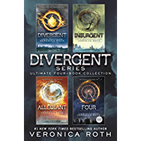 Divergent Series Ultimate Four-Book Collection: Divergent; Insurgent; Allegiant; Four book cover