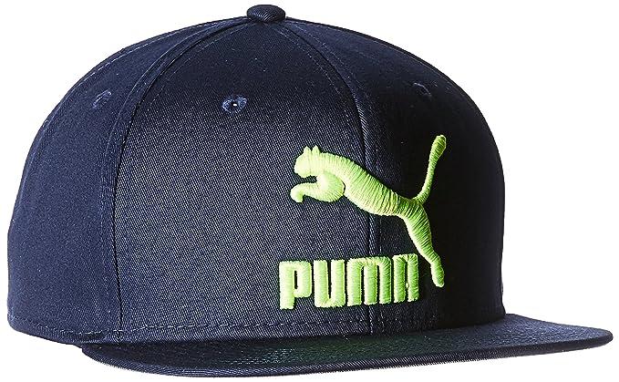 Puma Gorra Puma- Ls Colourblock Snapback Gorra para Hombre Azul Talla  Unitalla b4253b63f8f