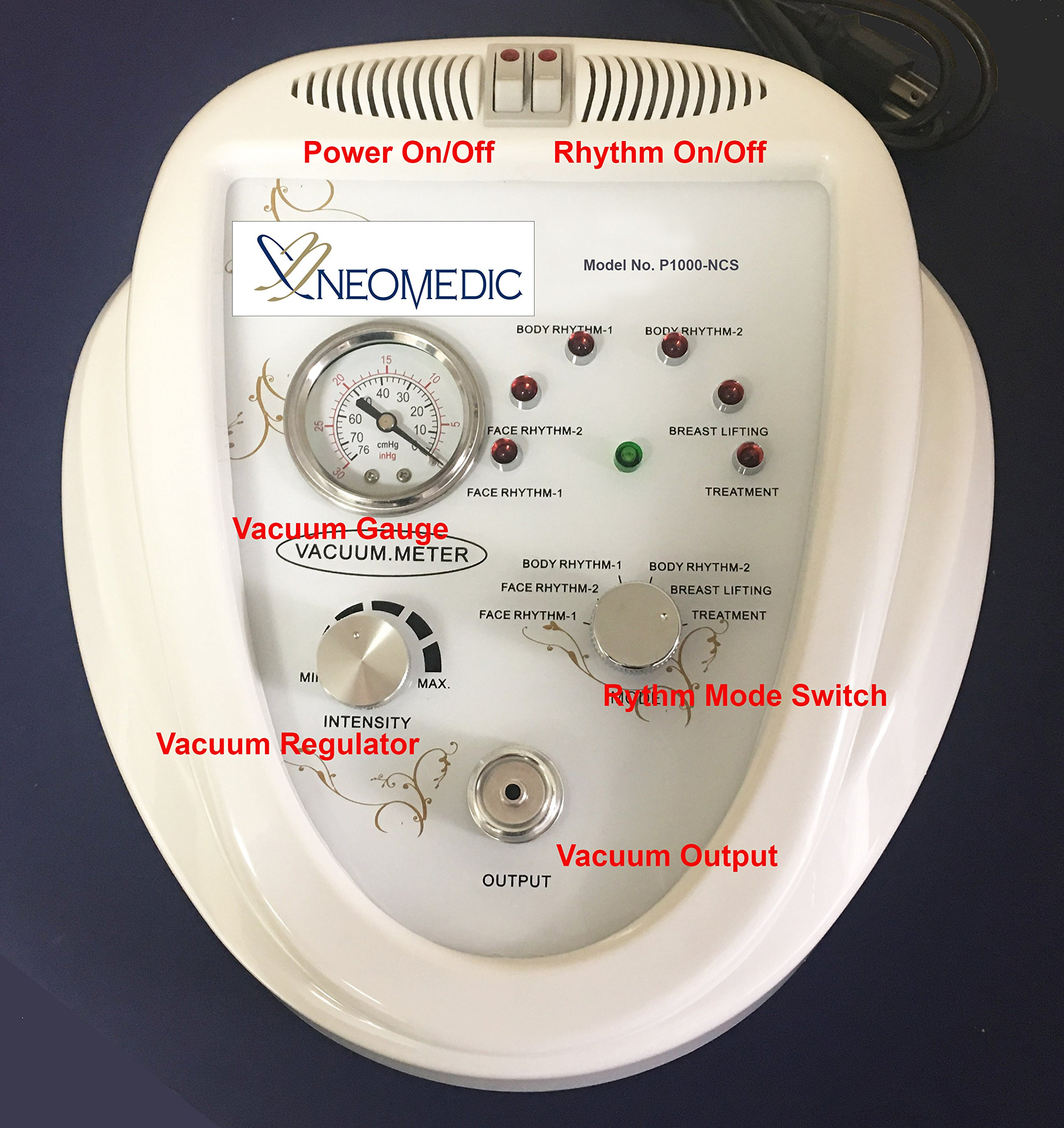 Professional Electric Auto Vacuum Cupping Complete Set