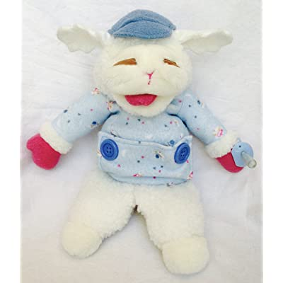 "Shari Lewis Plush 13"" Baby Lamb Chop Puppet Target Exclusive: Toys & Games"